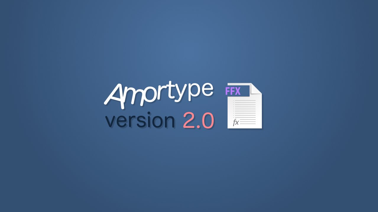 Amortype 2.0 - Automatically create damped animation letter by ...